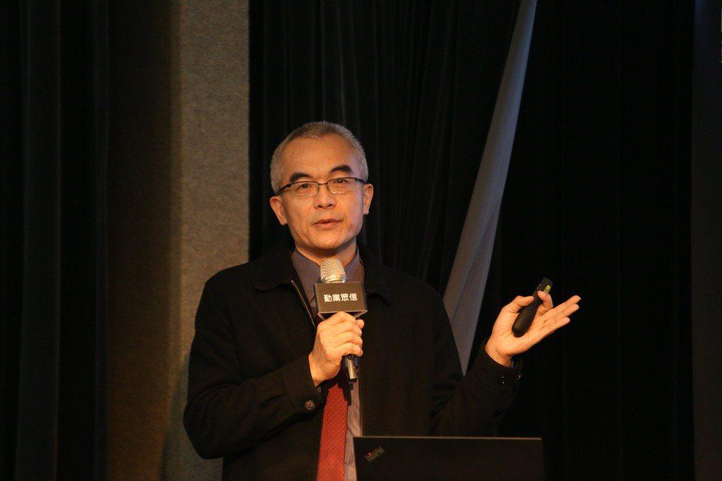 日月光半導體製造股份有限公司資深副總經理陳光雄。業者/提供