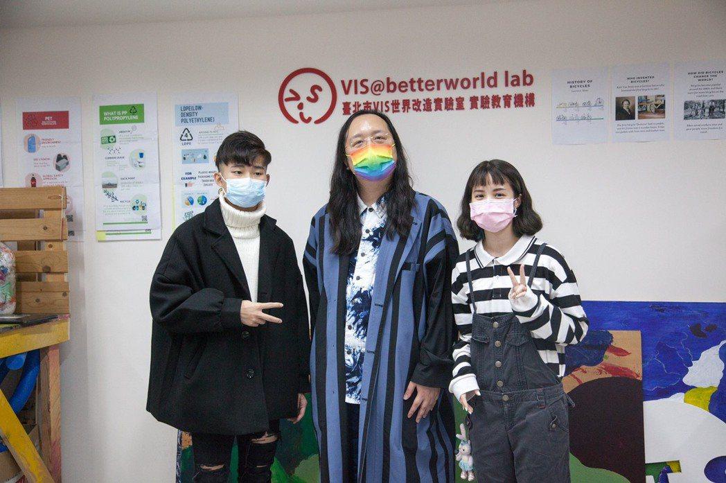 打造斜槓人生,唐鳳從PBL學習激發多元素養。 台北市VIS國際實驗高中/提供