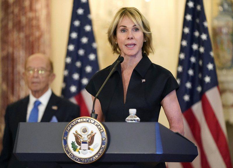 美國駐聯合國大使克拉夫特。(美聯社)
