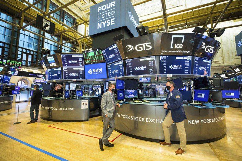 美股標普500指數13日溫和上漲。(美聯社)