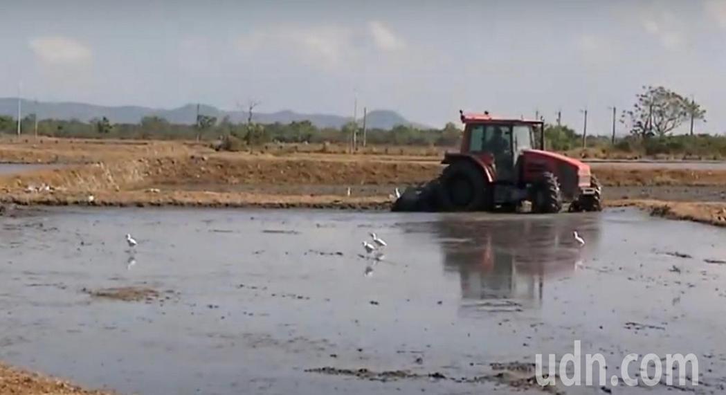 台東縣稻米最大產區的池上鄉和關山鎮一帶傳水荒,農田水利署台東管理處針對池上和關山...