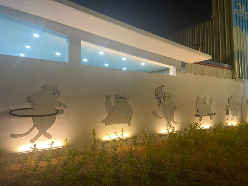 民雄運動內新建五星級公廁,打造使用者舒適體驗。圖/嘉義縣政府建設處提供