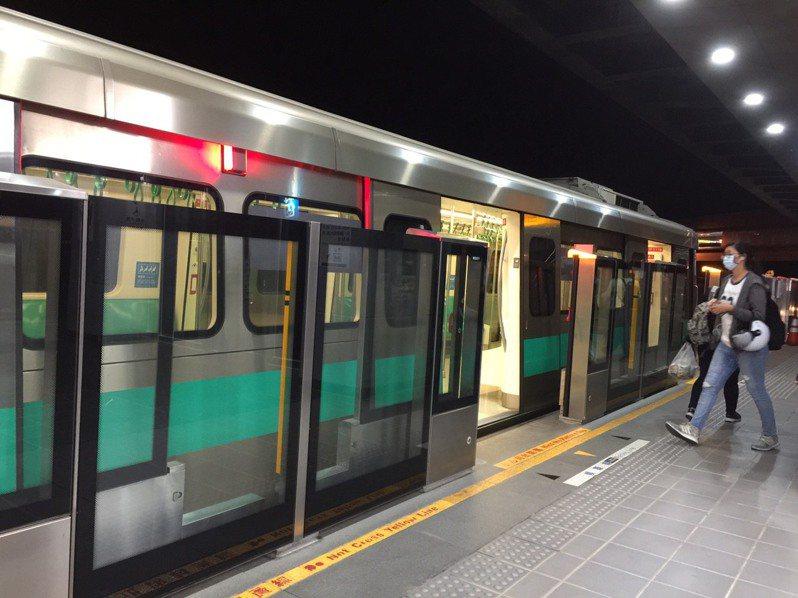 高雄捷運既有的紅橘兩線營運不易,市府每年為付捷運相關債務利息1億2000多萬元。圖/本報資料照片