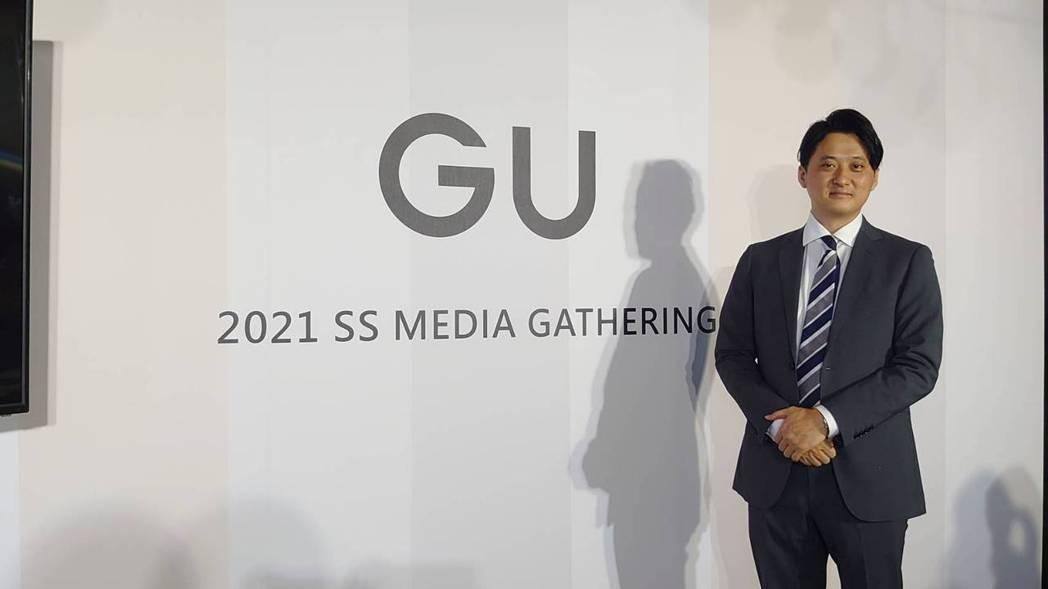 GU台灣事業COO(營運長)福島信廣。記者何秀玲/攝影