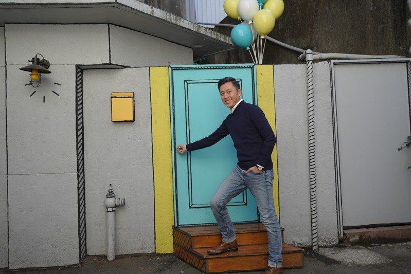 林智堅今造訪「西市仔」。圖/新竹市政府提供