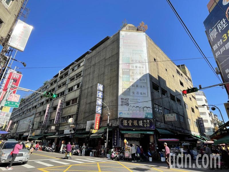 桃園公立永和市場走過90年,現址大樓將於今年拆除。記者張裕珍/攝影