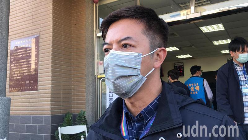 桃園市新聞處長詹賀舜。記者曾健祐/攝影