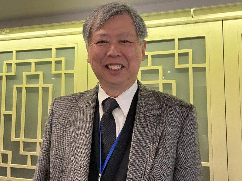 台灣港務公司董事長李賢義。記者邱瓊玉/攝影