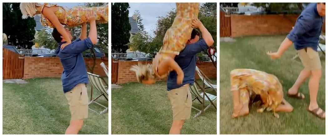 澳洲兼職女舞蹈老師米莉與男友康納日前準備重現美國愛情電影「熱舞17」的經典場景,...