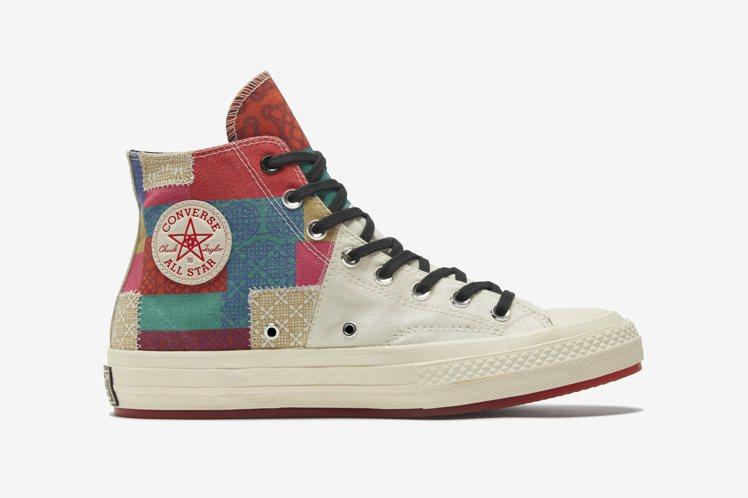 Converse百家衣款Chuck 70鞋2,980元。圖/Converse提供