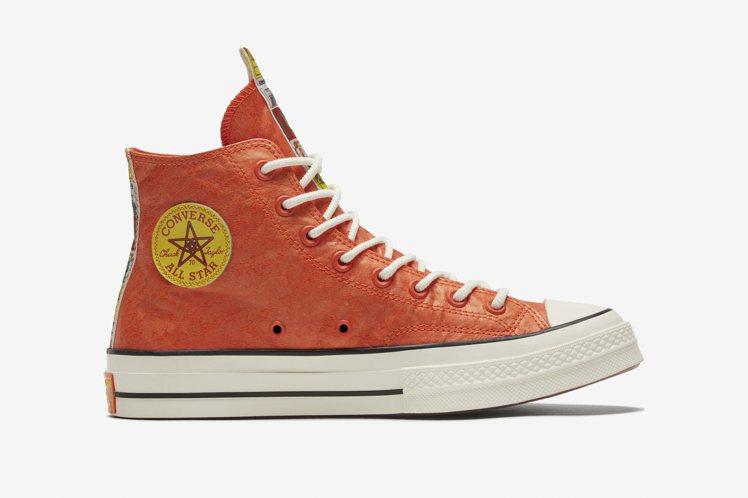 Converse爆竹款Chuck 70鞋3,080元。圖/Converse提供