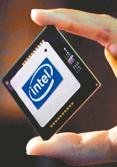 TrendForce表示,英特爾正著手將Core i3 CPU的產品釋單台積電的5奈米,預計下半年開始量產。圖為Intel CPU。(本報系資料庫)