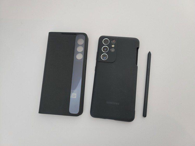 Samsung Galaxy S21 Ultra可額外選購配備S Pen的背蓋組...