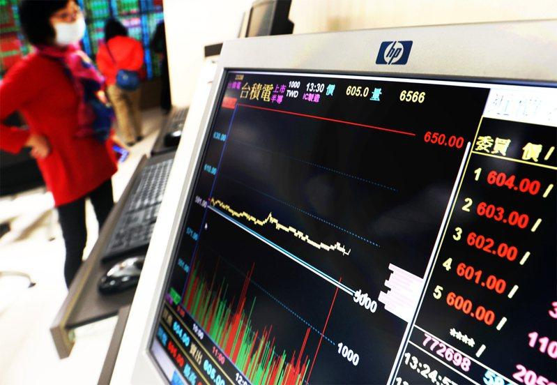 台積電股價狂漲。聯合報系資料照/記者杜建重攝影