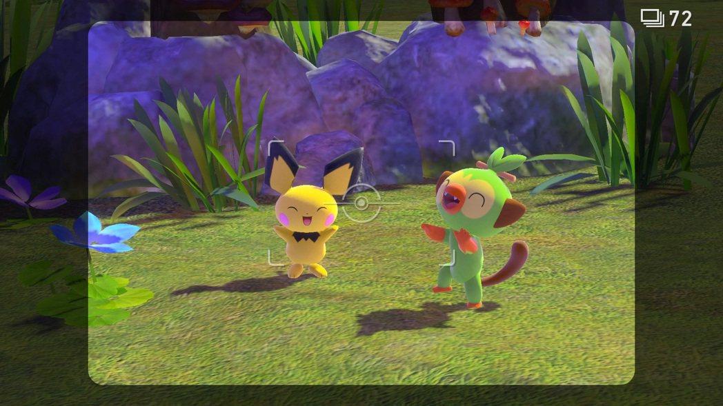 《New 寶可夢隨樂拍》開發中的遊戲畫面 來源:《New 寶可夢隨樂拍》官方網站...
