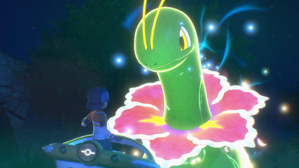 在調查寶可夢生態的同時,也調查「霓光現象」之謎吧。