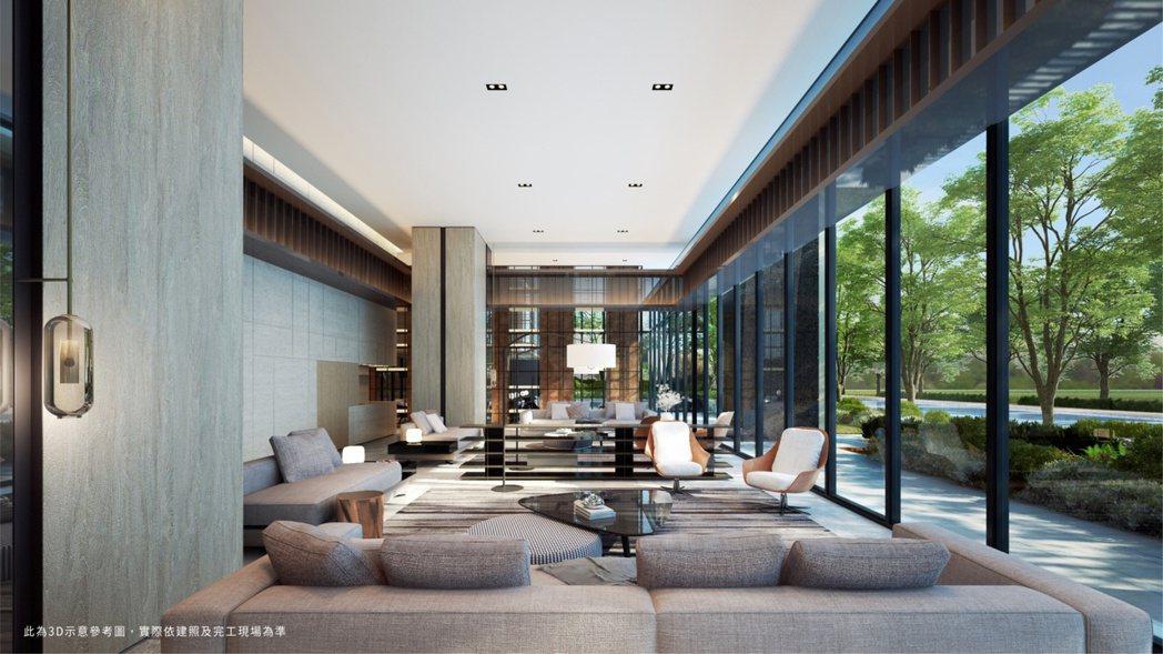 「和陸寓邸」從特殊的外觀延伸到內在的規劃,可謂做足了功課並不惜建築成本。圖/業者...