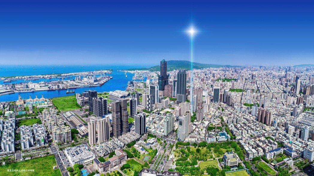 亞洲新灣區是高雄房市最亮眼的明日之星。圖/業者提供