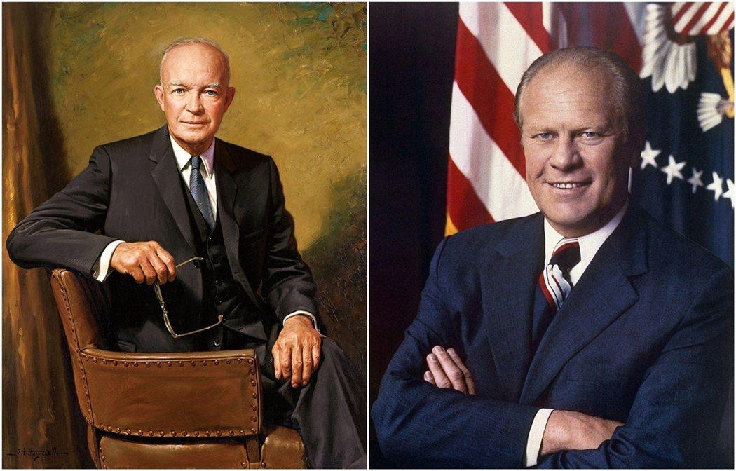 殺死長官女兒的Maurice Schick,雖然被艾森豪總統(左)特赦免於處死,...