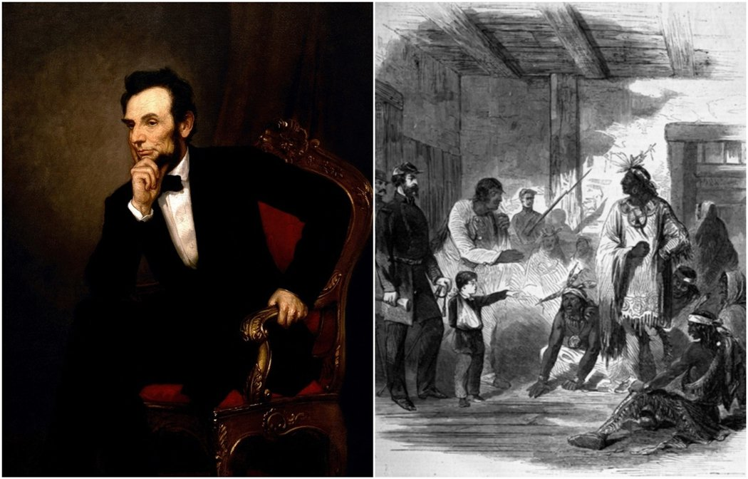 總統特赦的政治爭議,也發生在林肯總統任內的1862年美國原住民「蘇族起義」反抗白...