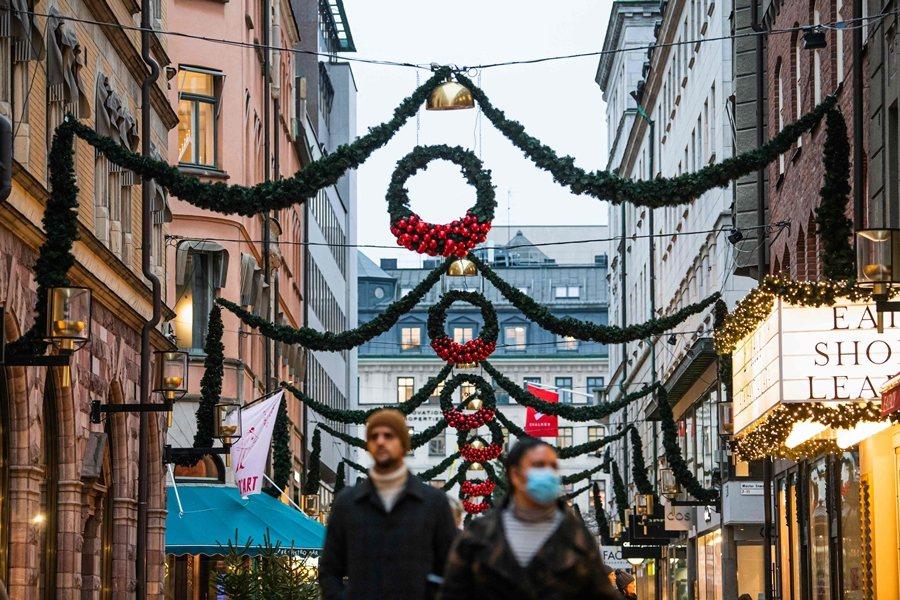 許多國家都在問,「瑞典防疫政策到底是怎麼一回事?」 圖/法新社