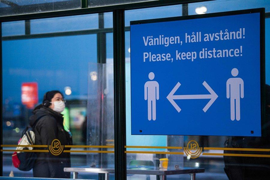 人口約1,000萬的瑞典已有超過45萬病例,可以預見的是瑞典內部的各種辯論及反省也會愈加激烈。 圖/法新社