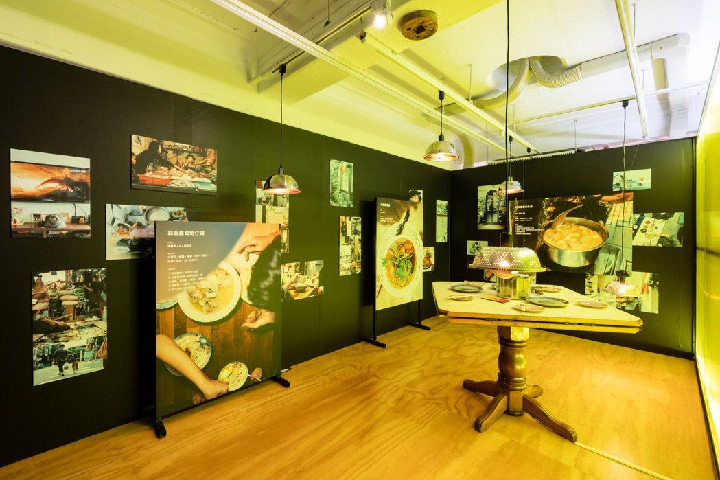 市場展區。 圖/忠泰建築文化藝術基金會提供
