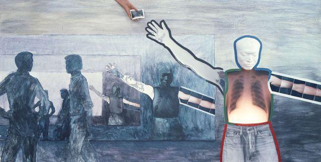 高重黎,《ASA的n次方》,1983,複合媒材。© 高重黎攝影 圖/Talter...