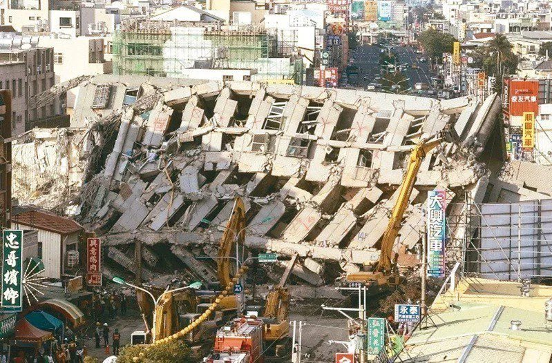 台南永康維冠大樓2016年因南台大地震倒塌。聯合報系資料照