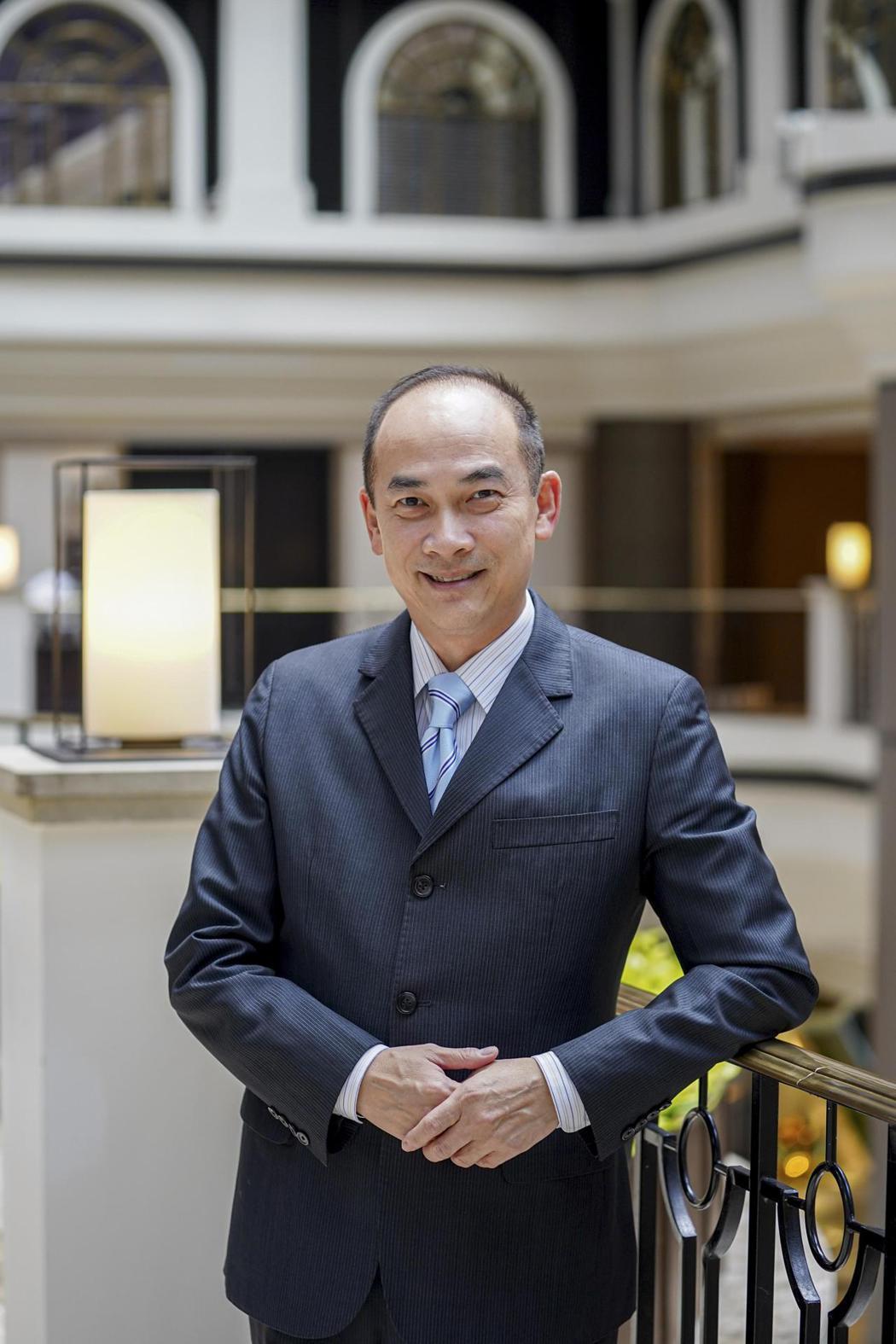 陳隆慶去年接任台北君悅酒店總經理。(照片提供:台北君悅酒店)
