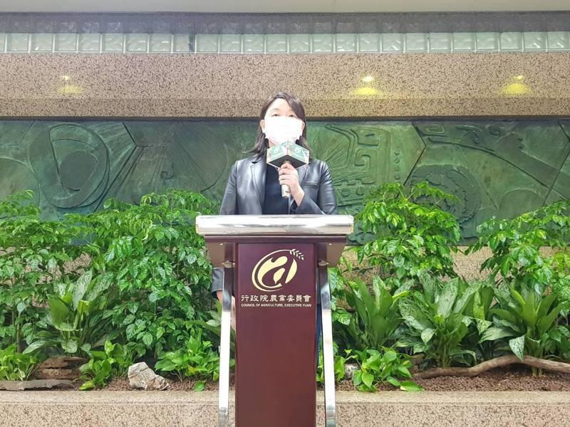 台灣豬標章爭議不斷,失去公信力,農委會今天對外說明,原本由中央畜產會執行核發的台灣豬標章,即日起,業務改由農委會處理。圖為農委會發言人、主秘范美玲。記者彭宣雅/攝影