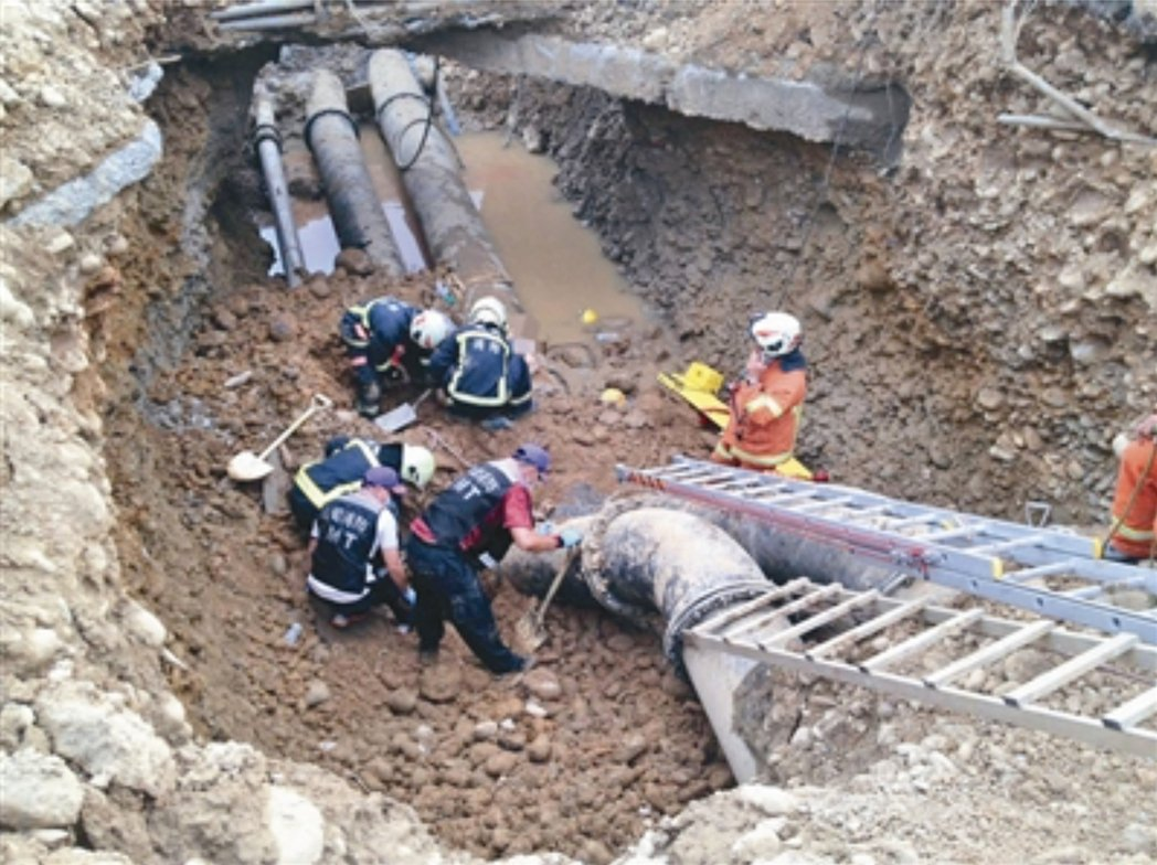 桃園國際機場WC滑行道遷建及雙線化工程,前年施工時發生嚴重公安意外,造成3名工人...