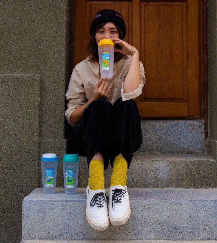 清心福全x探險活寶3款恰好瓶。圖/清心福全提供