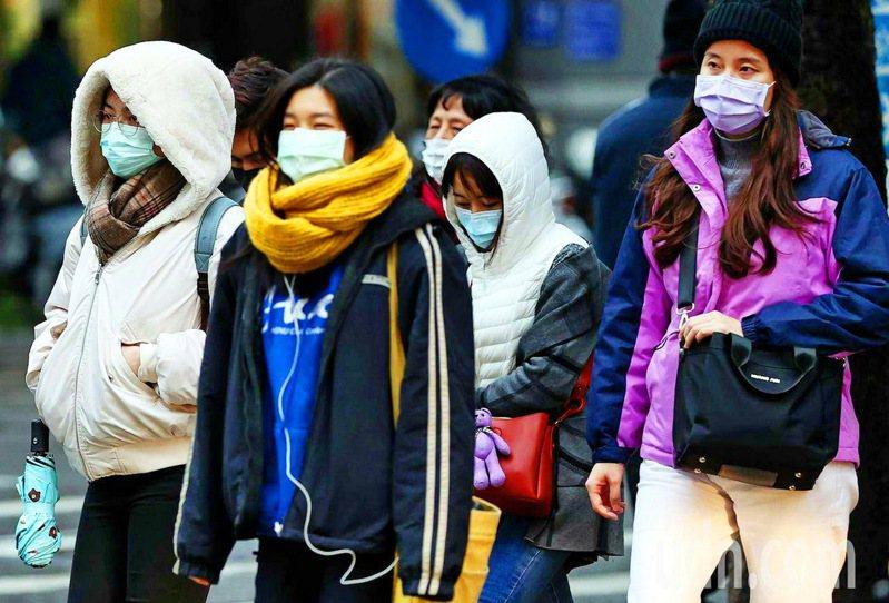 天冷時比天氣溫暖中風和心臟疾病發生率高,專家提醒民眾務必戒菸並做好保暖。圖/本報系資料照片