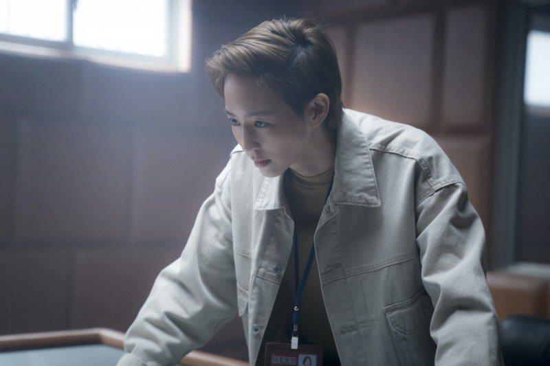 張鈞甯在「緝魂」演出一名刑警。圖/威視提供