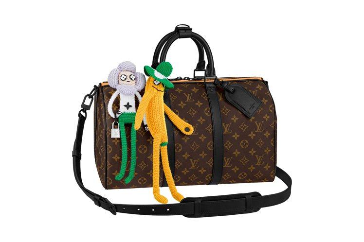 Keepall手袋,19萬5,000元。圖/LV提供