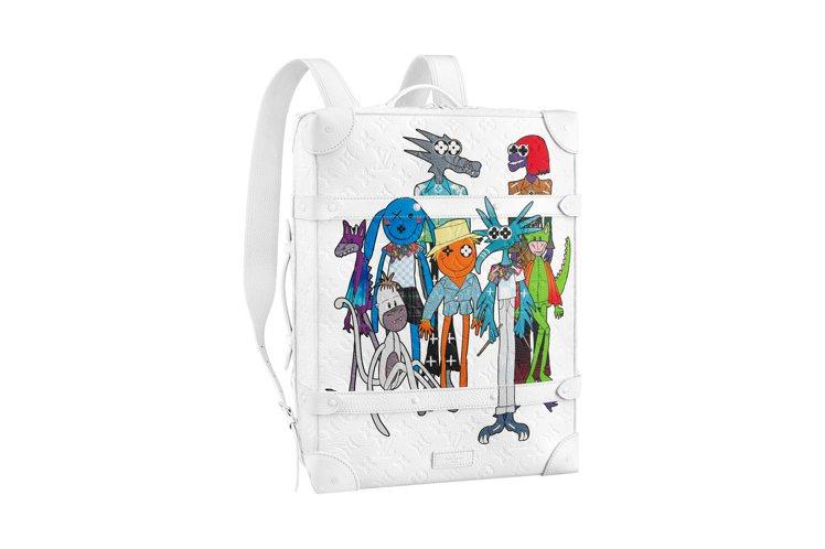 Soft Trunk後背包,21萬元。圖/LV提供
