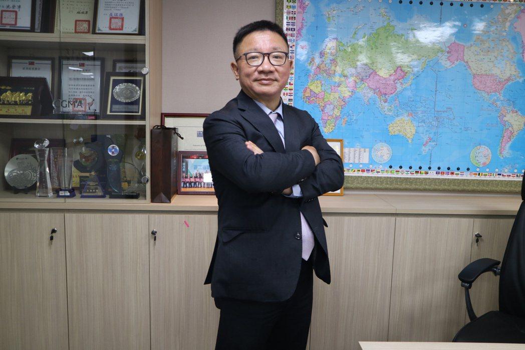 中華民國會計師公會全聯會理事長黃奕睿。會計師公會全聯會/提供