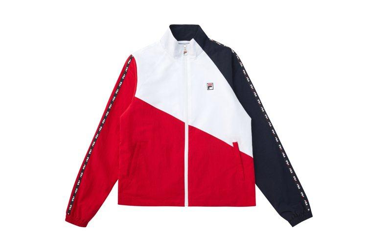 FILA拼接夾克3,280元圖/FILA提供