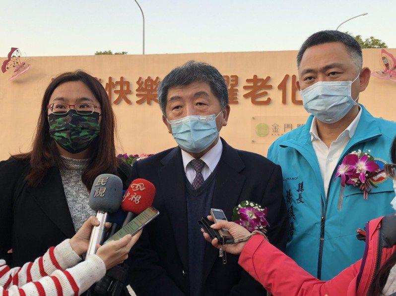 針對外界關心的小三通復航議題,衛生福利部部長陳時中今日在回應媒體詢問時表示,「未來是一定要復航的」。記者蔡家蓁/攝影