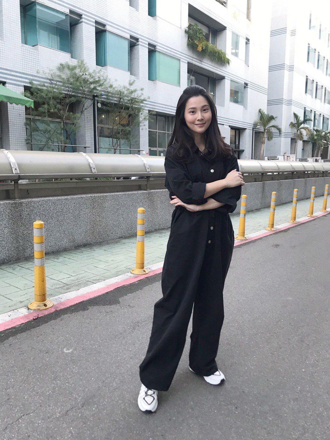 華千涵為參加裘海正演唱會狂健身。圖/萬鴻經紀提供