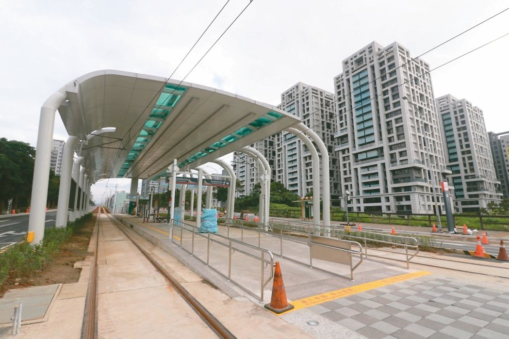 淡海新市鎮房價僅北市1/3、近年建設議題多,吸引首購族進住。 本報資料照片