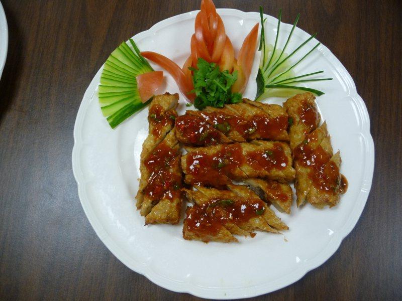 雞卷是著名的台灣美食。本報資料照