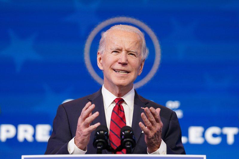 美國總統當選人拜登。 路透社
