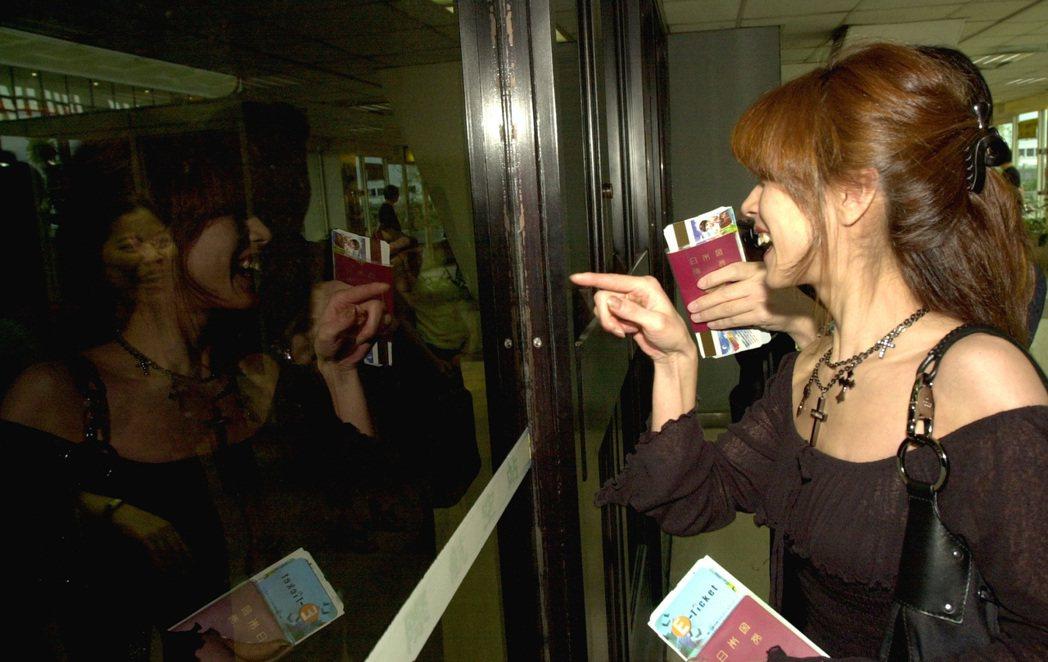 中森明菜曾於2003年來過台灣。圖/報系資料照