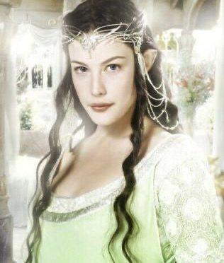 麗芙泰勒曾在「魔戒」系列扮演精靈公主。圖/摘自IMDb