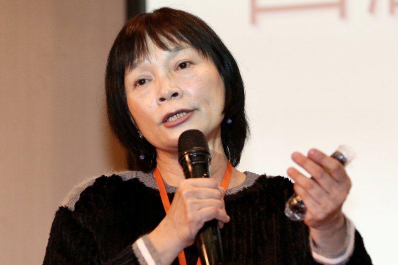 促轉會主委楊翠出席轉型正義工程研討會,並發表演講。記者林俊良/攝影