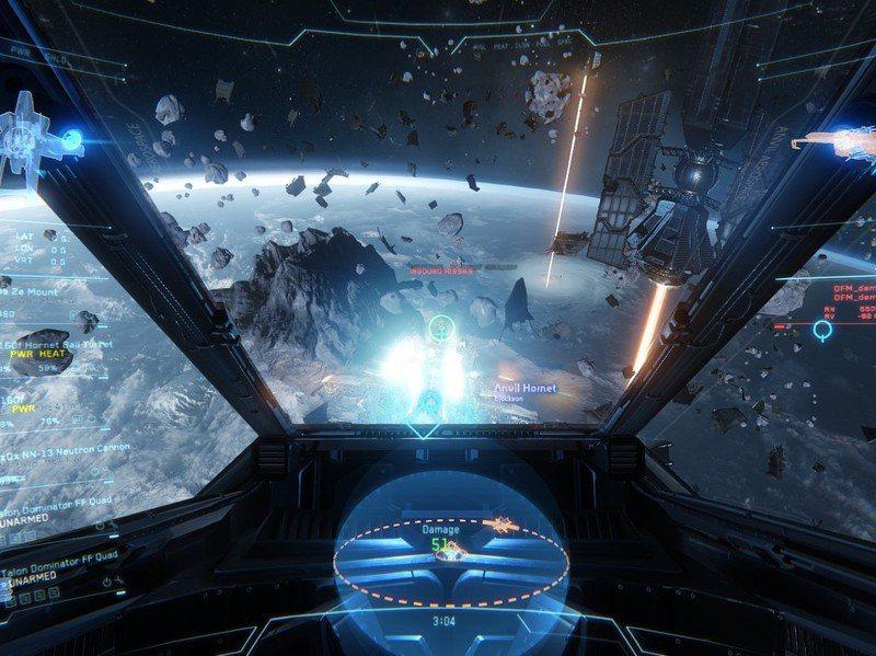 許多人苦等十年,就是因為將「星際公民」視為太空模擬遊戲的明日之星,然而他們一再得到的是不斷膨脹的遊戲內容承諾、上市延期和購買更多「船艦」(遊戲之募資方案)的消息。圖/取自Star Citizen