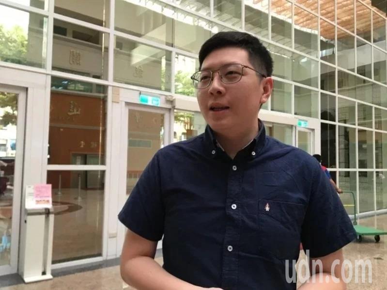 民進黨籍桃園市議員王浩宇遭罷免。本報資料照