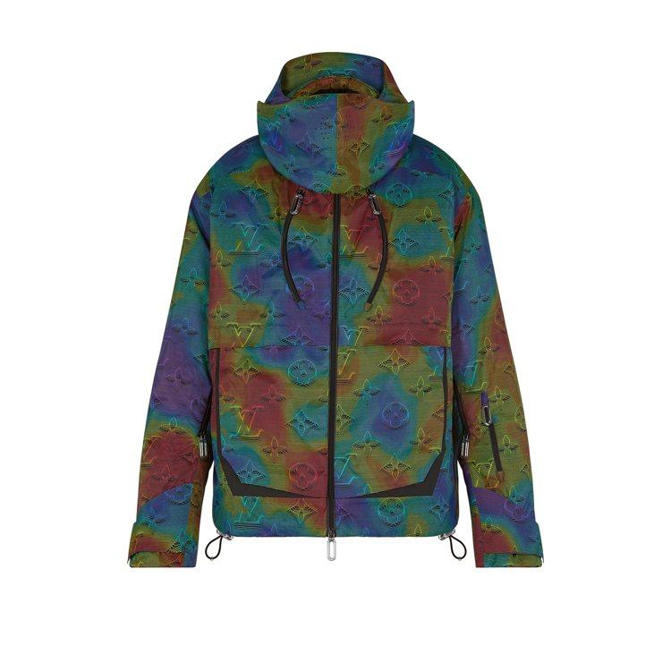 路易威登滑雪派克大衣,17萬7,000元。圖/LV提供
